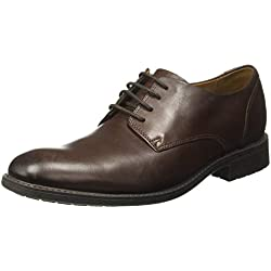 Clarks Men's Truxton Plain Brown Formal Shoes