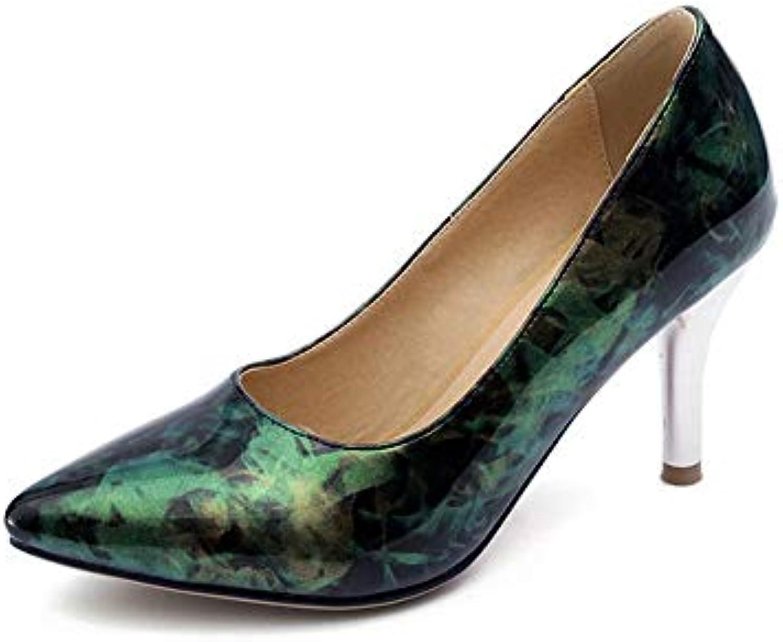 un wo  crampons stilettos orteil toutes les couleurs couleurs couleurs vert b07h9css88 pompes chaussures dgu00693-6 royaume uni u réthane parent 937d5e