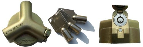 Spinsecure Lockable Tank Cap to secure fuel tanks & prevent theft, kerosene etc