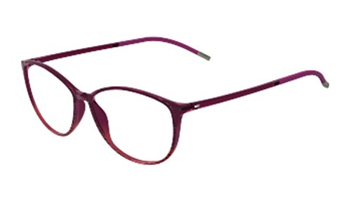 Silhouette - SPX ILLUSION FULLRIM 1564, Rechteckig, allgemein, Damenbrillen, WINE(6054 AQ), 52/14/0 (Silhouette Brille Damen)