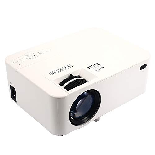 Hanbaili 4K 3D Full HD Projektor 4K 3D HD Smart Projektor 1080P Wireless Smart tragbare Mini DLP HDMI / USB / VGA / TF / AV Heimkino