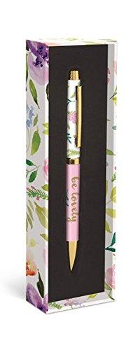 Fashion Pen: Flower Love - Modischer Kugelschreiber: Blumenliebe: Unser praktischer Kugelschreiber in der dekorativen Geschenkverpackung (Kugelschreiber in der Geschenkverpackung)