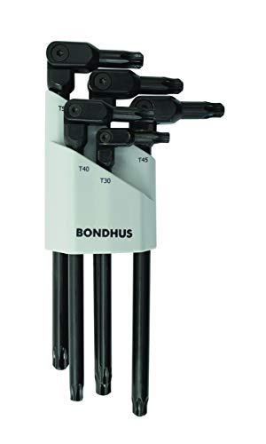 Bondhus 0029 HexPro Pivot Head 5-piece TORX Wrench Set (1 per Pack) - Bondhus Torx
