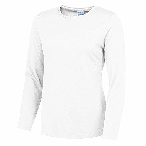 AWDis Damen Modern T-Shirt Gr. X-Large, Weiß (Arctic White) (Rolling-raglan-t-shirt Weiße)