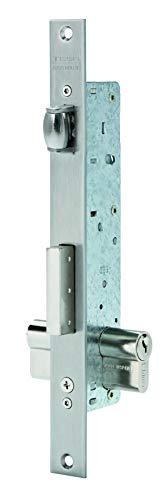Tesa Assa Abloy, 221620AI, Cerradura Monopunto para perfiles metálicos, Entrada de 20mm,...