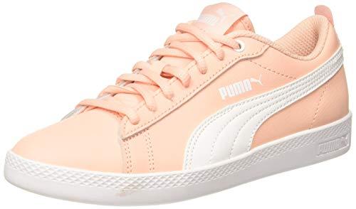 Puma Damen Smash WNS V2 L Sneaker, Pink (Peach Bud-Puma White), 39 EU