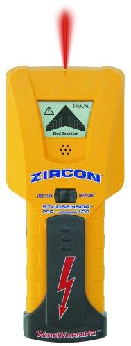 Zircon StudSensor Pro LCD Balkenortungsgerät mit Wire Warning Alarm