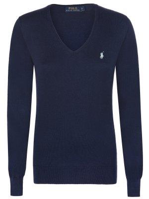 polo-ralph-lauren-damen-v-neck-pullover-small-pony-in-verschiedenen-farben-und-grossen-m-blau-navy-p