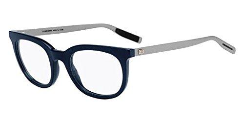 Christian Dior - BLACK TIE 217, Cat eye, acetato, hombre, BLUE SILVER(R9A), 50/21/150