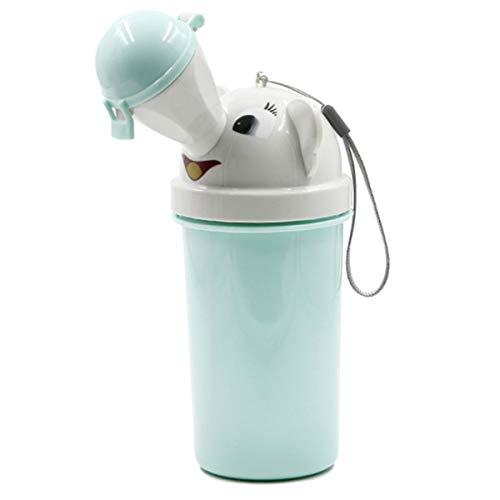 Jinxuny Urinal für Reisen, tragbar, wiederverwendbar, für Babys, Kinder, Notfall-Toilette, Training für Camping, Auto, Reisen für Jungen und Mädchen Light Blue Boy - Lite-urinal