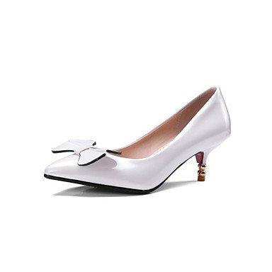 Sandali Donna Primavera Estate Autunno Club Scarpe tacco a spillo casuale della novità personalizzata Materiali abito Altri Nero Bianco Beige White
