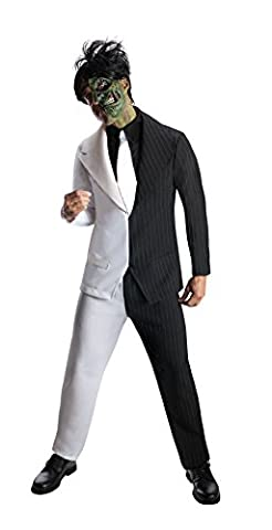 Half Man Costumes - DC Comics Super Villains Batman Two-Face -