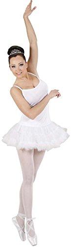 WIDMANN 76402?Prima bailarina disfraz, versión blanco, De Talla M