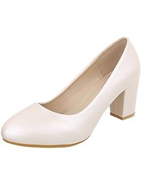 Scarpe da donna Scarpe col tacco tacco gattino Classico Scarpe col tacco Ital-Design