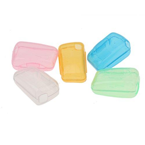 5 x Spielraum Zahnbürste Kopf Zahnbürstenkopf Schutzkappen, gut für Gesundheit Reise Dienstreise / zu Hause