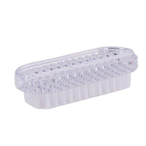 ULTNICE Spazzola per unghie in plastica per la