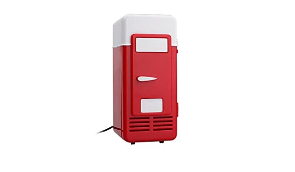 Mini Kühlschrank Für Schreibtisch : Usb super mini kühlschrank kühlschrank getränke getränke kühler