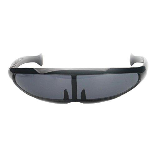 Homyl Futuristische Erwachsenen Sonnenbrille - -