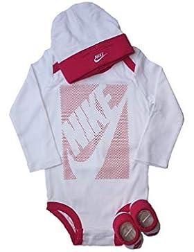Nike Baby-Set Mütze Strampler Socken 3.TLG Girls