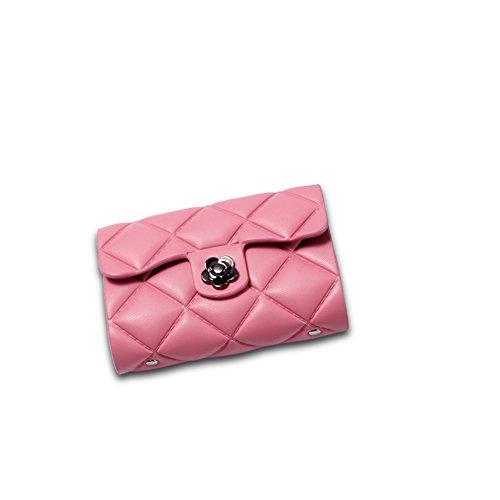 Faysting EU vari colori donna portafoglio donna borsellino nero rete decorato fashion stile buon regalo B