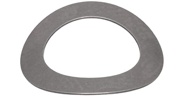 Inch Stainless Steel 0.598 ID 0.857 OD 0.012 Thick 0.074 Compressed Height 5.5lbs Load Capacity Pack of 10 Curved Washer