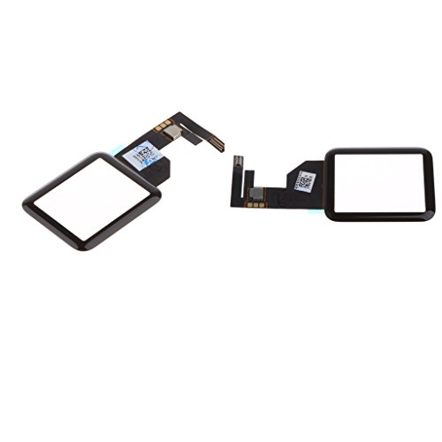 Sharplace 2 Stücke LCD Display Touch Screen Digitizer Assembly Ersatzglas für iWatch 1. Gen 42 + 38mm -