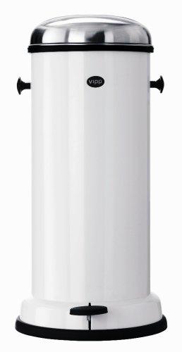 Vipp 16–Pedal Eimer 18L Abfall bin-white