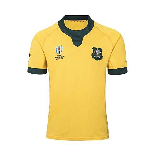 LYLSH Rugby Jersey T-Shirt NFL Football Australian Weltmeisterschaft T-Shirt Mann Sportswear (3XL)
