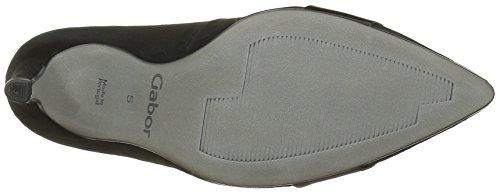 Gabor Shoes 51.290 Damen Geschlossene pumps Schwarz (schwarz(altsilber) 10)