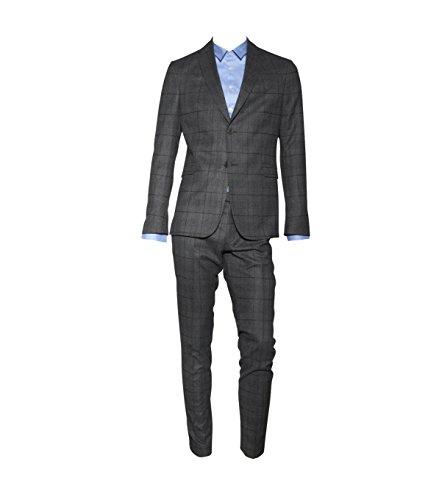 drykorn anzug herren Drykorn Herren Woll-Anzug Reims grau kariert 2 Grey Check 52