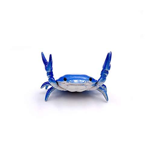 Neue Kreative Niedlichen Krabben Stifthalter Gewichtheben Krabben Stifthalter Brille Halterung Lagerregal Geschenk Schreibwaren blau
