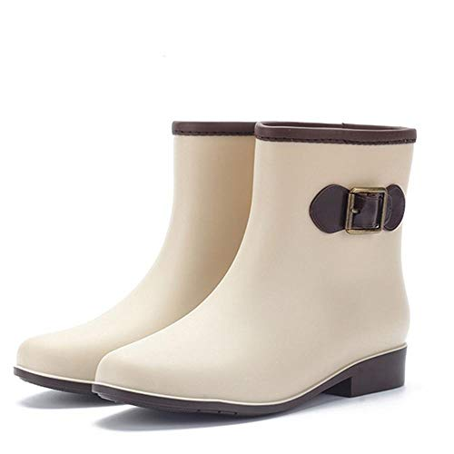 Gbadai Rain boots-Waterproof rubber boots rain boots women