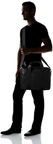 Tommy Hilfiger Novelty Stripe Computer Bag, Sacs pour ordinateur portable Noir (Black)