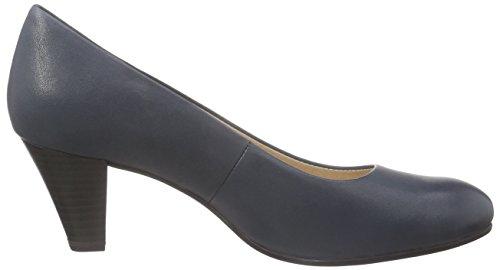 Caprice22417 - Scarpe con Tacco Donna Blu (Blau (OCEAN 803))