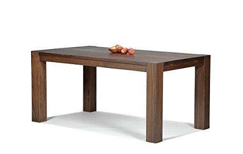 Naturholzmöbel Seidel Esstisch,Rio Bonito, 160x90cm, Pinie Massivholz, geölt und Gewachst, Tisch Farbton Cognac braun, Optional: Passende Bänke und