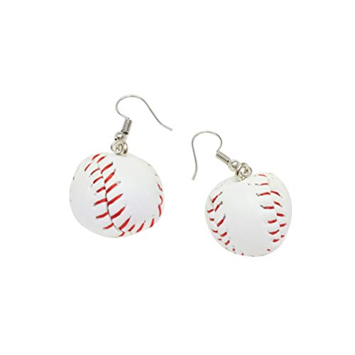 BESTOYARD Ohrringe 3D Baseball Ohrringe Sport Ball Ohrring Schmuck für Frauen Mädchen