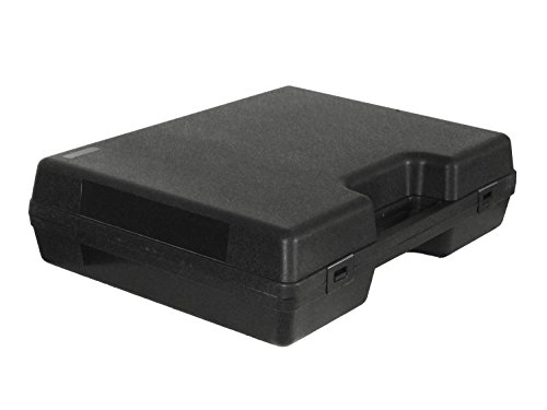 BEGADI Pistolenkoffer/Waffenkoffer Alpha aus Kunststoff, mit Schaumstoffeinsatz (39x29cm)