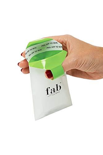 FabLittleBag der Hygiene- Entsorgungbeutel - Grosspackung X12 Badezimmerpackungen (jede Packung enthält X20 FabLittleBags) -