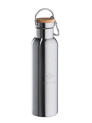 Sport e viaggi Altro campeggio, escursionismo Borraccia in acciaio inox con incisione isolierflasche Escursionismo Campeggio Outdoor