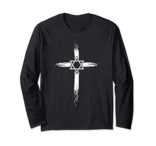 Jüdisches Kreuz Design Jesus Judentum Israel Stolz - Chanukka Kostüm