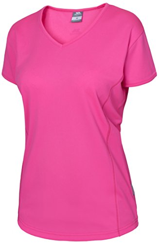TRESPASS - T-Shirt Femme - Trickle Active T-Shirt W Rose High Vis Pink