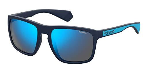 Polaroid PLD 2079/S Gafas de Sol, Multicolor (Mtt Blue), 57 para Hombre