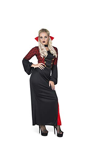 Karnival Costumes- Halloween Vampire Temptress Disfraz, Color rojo & negro, extra-small (84114)