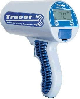 Deportes Radar Tracer sra3000Sport Radar Pistola w/disparador/continuo/Promedio modos,