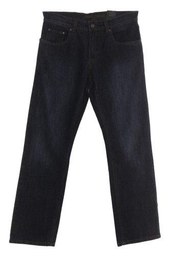 Étui de protection en jeans de carlo colucci --- modèle :  enrico --- 7113 blue black