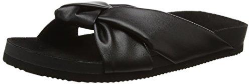 cheap-mondayblase-knot-pantofole-donna-nero-black-black-39