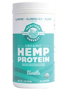 Pack of 1 x Manitoba Harvest Organic Hemp Protein Vanilla
