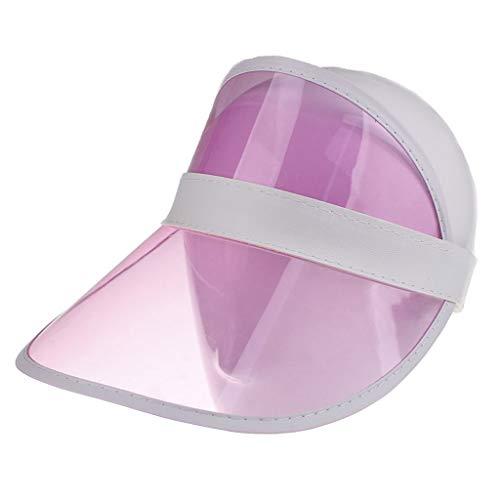 EUCoo Hut Freienreiten Der Modekappe TräGt Golf Hellen Augenschutzhut Sonnenhut Zur Schau(Rosa)
