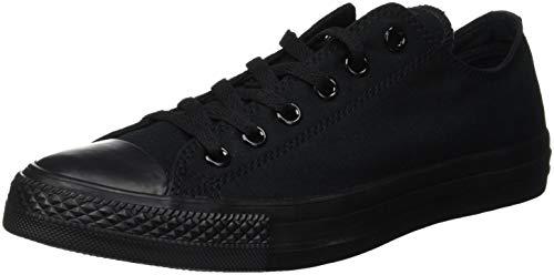 Converse Chuck Taylor All Star, Unisex - Erwachsene Sneaker, Schwarz (Black Mono), Gr.43 EU