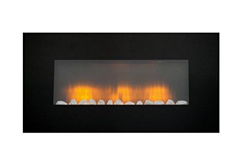chimenea eléctrica y simulación de llama LED